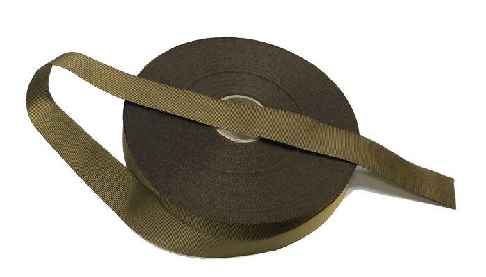 "Coyote Brown 25mm / 1"" Binding Tape Roll"