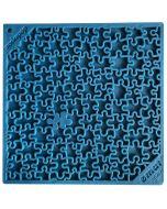 SodaPup Lick Mat - Enrichment EMAT with Jigsaw Design - Blue