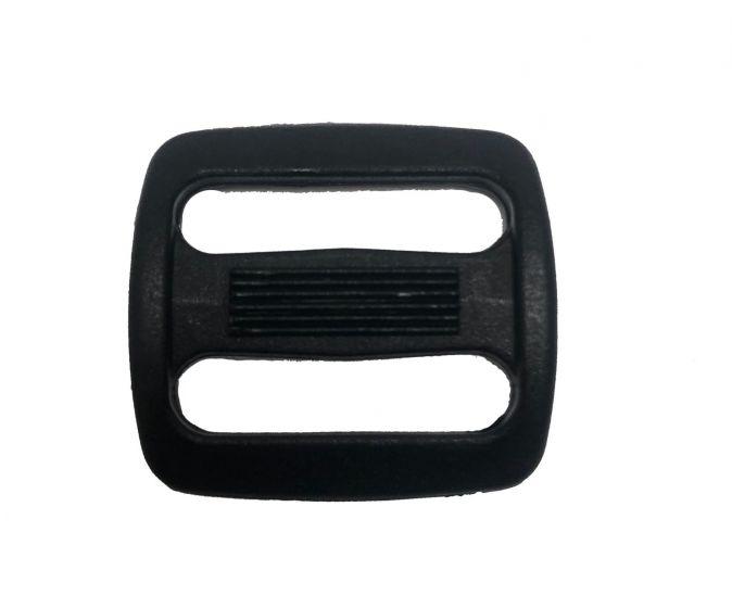 "Duraflex Black 20mm / 0.75"" Triglide - Sliplok"