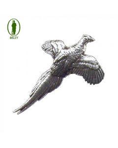 Bisley Pewter Pin No.1 Small Pheasant