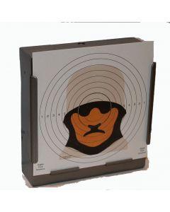 100 x Figure 14 Sniper Targets 17cm x 17cm