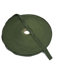 "19mm / 0.75"" Olive Green Elastic roll"