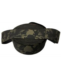 """100mm / 4"""" Double Sided Crye Multicam Black Elastic"""