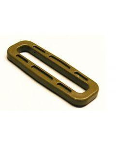 ITW Nexus Tan GhillieTex 50mm Square Ring / Looploc