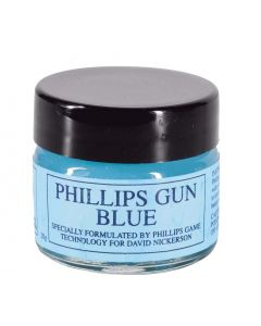 Gun Blue 20g Glass Jar by Phillips