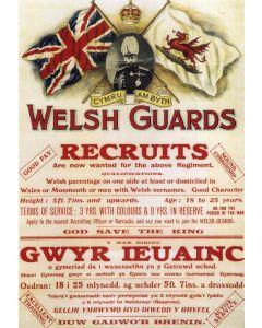 Welsh Guards Recruitment Poster