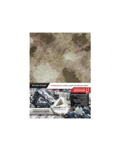 Gearskin Adhesive Camouflage Fabric A-Tacs AU Mammoth