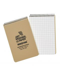 Top Spiral 50 Page Modestone Waterproof Notepad