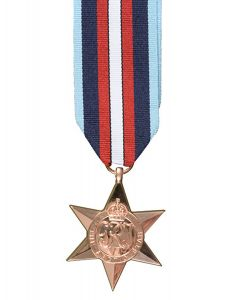 Official ARCTIC STAR Full Size Medal and Ribbon