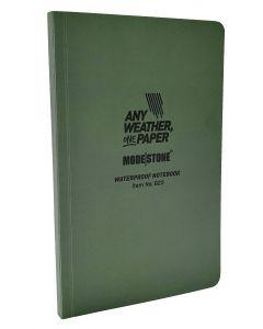 Modestone Flexible Waterproof Notebook - Green (118mmx183mm)