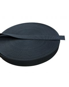 "45mm - 1.75"" Black Belt Webbing - Resin Treated"