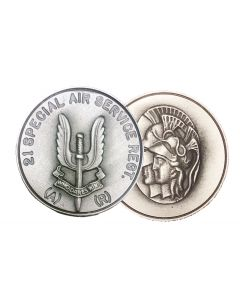 21 SAS Special Air Service Regiment Coin (Artists)