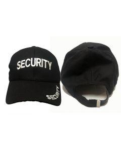 Black Cotton Security Cap - (Ideal for Fancy Dress)