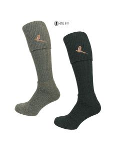Embroidered Stockings Socks by Bisley