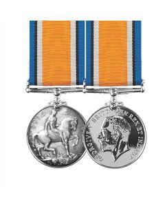 Official World War One BRITISH WAR Full Size Medal 1914 - 1920