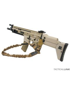Tactical Link Convertible Bungee Mash Hook Sling For SCAR Rifles