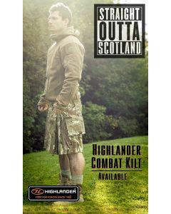Highlander HMTC - MTP / Multicam Match Combat Kilt - Tactical Kilt