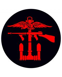 Combined Operations Left Facing Decal / Sticker (75mm x 75mm)