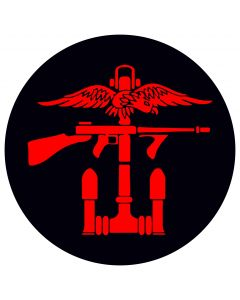 Combined Operations Right Facing Decal / Sticker (75mm x 75mm)