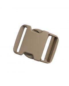 """Duraflex 50mm / 2"""" Tan499 Side Release Buckle Lock Monster - Male Adj/Fem Fix"""