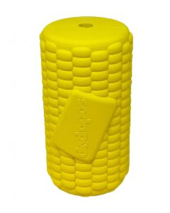 Sodapup Corn on the Cob Treat Dispenser and Chew Toy - Medium - Yellow