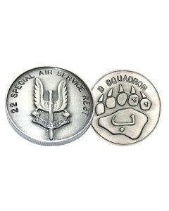 B Sqn Bears Claw - SAS 22 Special Air Service Regiment Coin