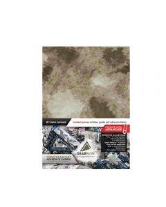 Gearskin™ A-TACS® AU Arid Urban Regular Adhesive Camouflage Fabric