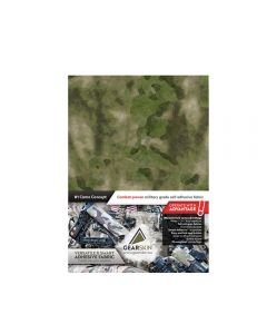 Gearskin Adhesive Camouflage Fabric A-Tacs Foliage Green Mammoth