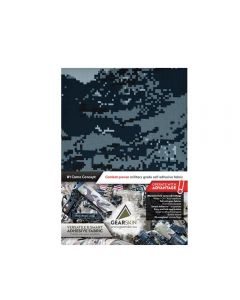 Gearskin Digital Navy Mammoth Adhesive Camouflage Fabric front