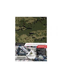 Gearskin™ Digital Woodland Mammoth (Adhesive Camouflage Fabric)