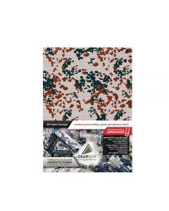 Gearskin Flecktarn 3 Colour DE Mammoth Adhesive Camouflage Fabric