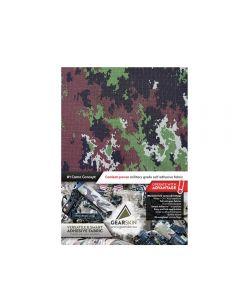 Gearskin MIMETICO VEGETATO mammoth Adhesive Camouflage Fabric