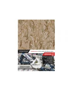 Gearskin Crye MULTICAM Arid Compact Adhesive Camouflage Fabric