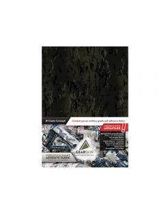 Gearskin™ Crye MULTICAM® Black Regular (Adhesive Camouflage Fabric)