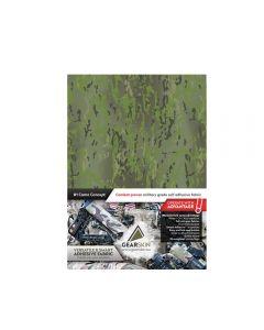 Gearskin regular Adhesive Camouflage Fabric back Crye Multicam Tropic