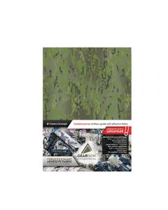 Gearskin Mammoth Adhesive Camouflage Fabric back Crye Multicam Tropic