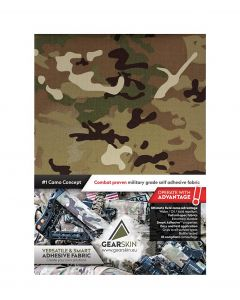 Gearskin™ V-camo Extra (Adhesive Camouflage Fabric) front
