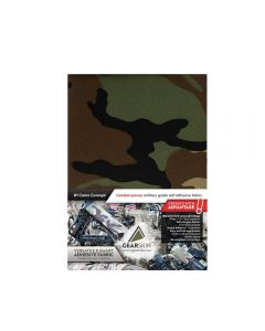 Gearskin™ Woodland Extra (Adhesive Camouflage Fabric) front