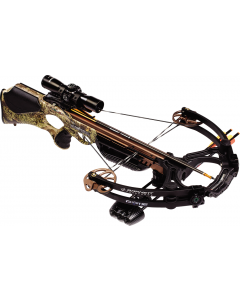 Barnett Ghost 385 CRT Crossbow Inc Quiver, Bolts, RCD and Scope
