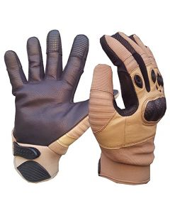 Tactical Special Ops Kevlar Shooters Gloves - Coyote Tan