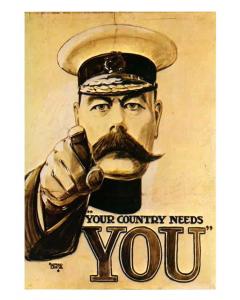 Kitchener Recruiting Poster WW1