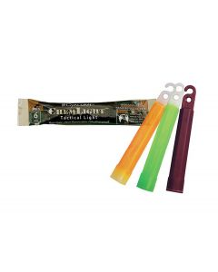 """6 Hour 4"""" Military ChemLight (10cm) Green lightstick (Cyalume® Branded) group"""