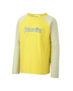 Kids OFFICIAL Brownie Long Sleeve T Shirt - All sizes