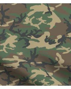M81 Woodland Camouflage 500d Cordura