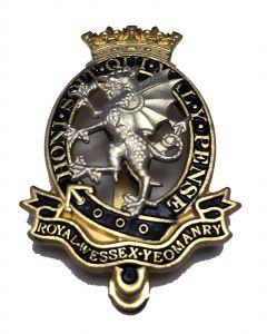 Royal Wessex Yeomanry Beret Badge