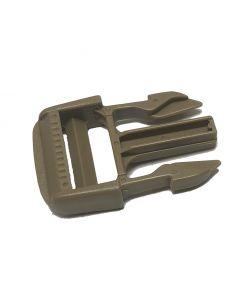 "Duraflex Tan 499 Mojave Half Buckle 25mm - 1"" (Male Adjustable)"