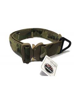 UKOM Cobra Velcro ID Collar front multicam