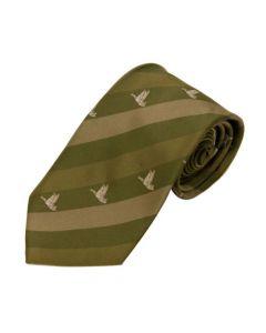 Duck Striped Tie