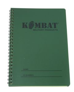 Kombat-Mini-Waterproof-Notebook-Front