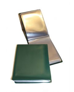 UKOM Green 20 page A6 Nyrex / Nirex Folder Document Holder 2 folders